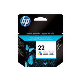 CARTUCHO ORIGINAL (C9352AE Nº22) PARA IMPRESORAS HP - 5ml - Color
