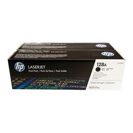 TONER ORIGINAL (CE320AD Nº128A) (Pack2) PARA IMPRESORAS HP - 2.000pag*2 - Negro